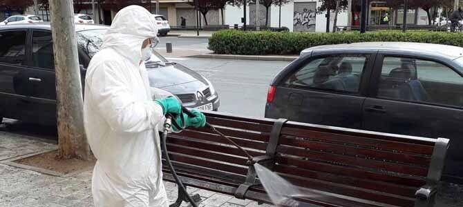 Albacete incrementa las medidas de desinfección en sus calles |  eldiadigital.es Periódico de Castilla-La Mancha