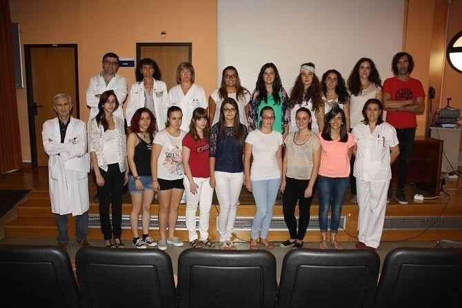 El Hospital Mancha Centro Recibe A 16 Nuevos Alumnos Del