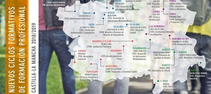 Clm Oferta Más De 30 Nuevos Ciclos De Fp Con Una Oferta